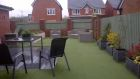 Low maintenance Child friendly garden transformation with composite Eco decking and artificial grass<br /><br />www.heysgroundcare.co.uk