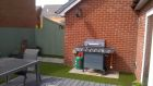 Low maintenance Child friendly garden transformation with composite Eco decking and artificial grass and BBQ<br /><br />www.heysgroundcare.co.uk