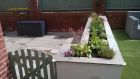 Raised planter with range of alpine and herbaceous perennial plants<br /><br />www.heysgroundcare.co.uk