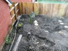 Raised planter soil in place commencement of planting Japaneese garden with Acers<br />www.heysgroundcare.co.uk